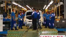 Anul acesta a crescut numărul maşinilor Ford asamblate pe liniile fabricii din Craiova
