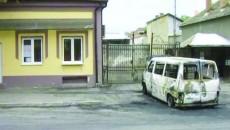 Maşina lui Dascălu s-a făcut scrum până la sosirea pompierilor