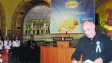 Antonie Solomon a primit diplomă de excelenţă la aniversarea agenţiei Mapamond