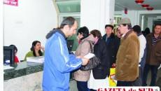 Craiovenii au stat la mai multe rânduri de cozi pentru a beneficia de ajutoarele de încălzire