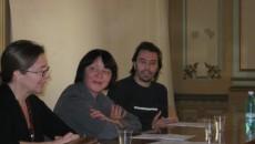 Amfitrionii întâlnirii cu poezia letonă