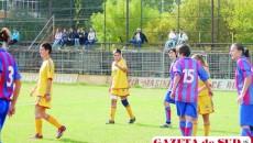 Claudia Buză a marcat unicul gol al partidei de la Bascov