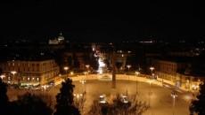 La Roma, Revelionul se sărbătoreşte în Piazza del Popolo