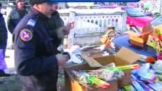 Poliţiştii şi jandarmii doljeni au confiscat miercuri aproape 40.000 de petarde