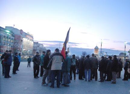 Craiovenii au ieșit din nou în stradă