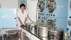 La staţia de sterilizare se foloseşte tehnologia secolului trecut