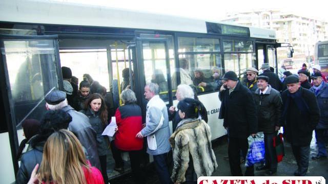 RAT a primit 32.445.855 de lei, pentru facilitățile la transportul în comun oferite anumitor categorii de persoane