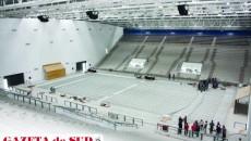 Constructorul Sălii Polivalente încă aşteaptă cele 4.000 de scaune care trebuia să ajungă de câteva săptămâni. Acesta este doar unul din motivele care au întârziat inaugurarea ei cu ani buni
