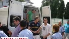 Cosmin Camen, alături de Adrian Popescu (stânga), judecat şi el într-un alt dosar de infracţiuni cu carduri bancare