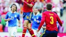 Singura certitudine de la partida Italia - Spania este spectacolul