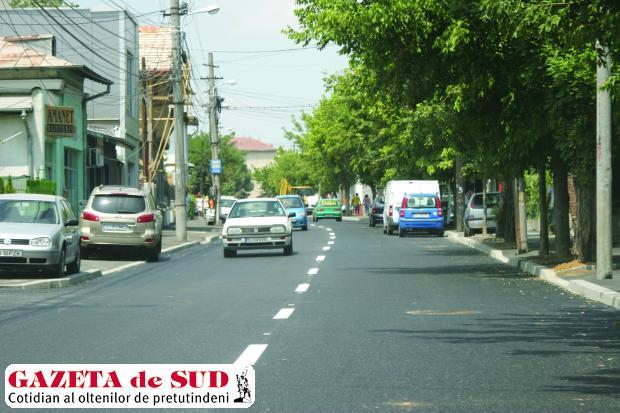 După trei luni, strada Amaradia a fost redeschisă circulaţiei