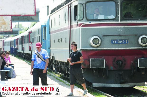 Din cauza temperaturilor ridicate, circulaţia trenurilor se va desfăşura cu restricţii de viteză