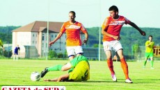 Jucătorii craioveni (în portocaliu) aşteaptă cu nerăbdare debutul în Liga a III-a