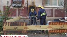 Pompierii vor asigura zona până ce se va încheia intervenţia angajaţilor Distrigaz Sud