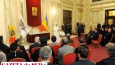 Patriarhul Daniel l-a medaliat pe primarul municipiului Râmnicu Vâlcea