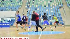 Handbaliştii tricolori nu se abat de la programul de pregătire chiar dacă sunt sărbatorile