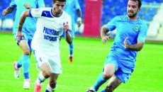 Alin Buleică (în alb) speră să-şi găsească o nouă echipă pentru returul campionatului