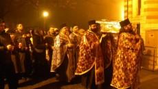 Racla cu moaştele Sfintei Tatiana a fost purtată în procesiune în jurul Catedralei