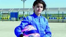 Alexandra Marinescu speră să se acomodeze cât mai repede cu kartul de la categoria KF junior, diferit faţă de cel de la Mini
