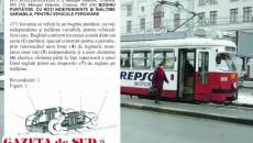 Boghiul purtător reglabil în înălţime, înregistrat de Valentin Meluşel, ar urma să echipeze tramvaiele vechi din Craiova