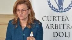 Ministrul delegat pentru IMM-uri, mediul de afaceri şi turism, Maria Grapini, la evenimentul de lansare a celui de-al doilea număr al revistei Oltenia Business