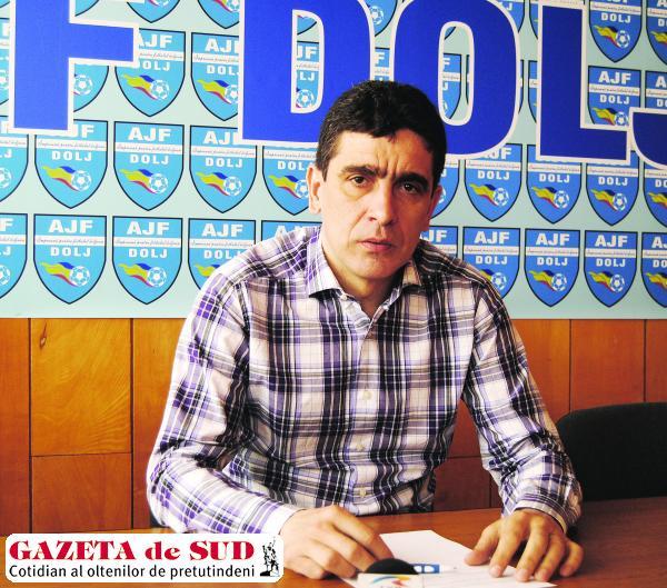 Silviu Bogdan speră să găsească jucători talentaţi în judeţ pentru Universitatea Craiova