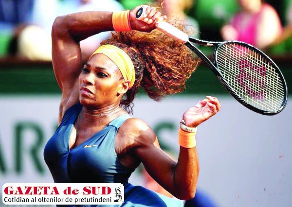 Serena Williams s-a calificat fără probleme în finală