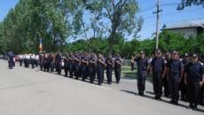 Jandarmii la manifestările comemorative organizate la Cimitirul Eroilor din municipiul Slatina