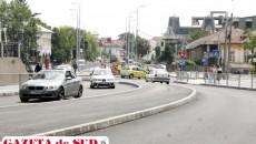 Pe strada Arieş se circulă la fel ca acum un an