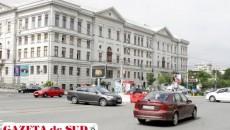 Potrivit Poliţiei Rutiere, giratoriul de la Universitate descongestionează traficul de pe Calea Bucureşti