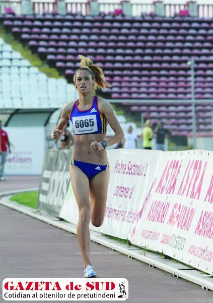 Florina Pierdevară a fost singura atletă care s-a încumetat să alerge în finala de la 1.500 m