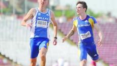 Dănuţ Ceici (stânga) traversează o perioadă foarte bună, urcând pe podium la mai toate cursele