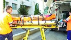 Unii dintre răniţi au ajuns la Spitalul Judeţean de Urgenţă din Târgu Jiu