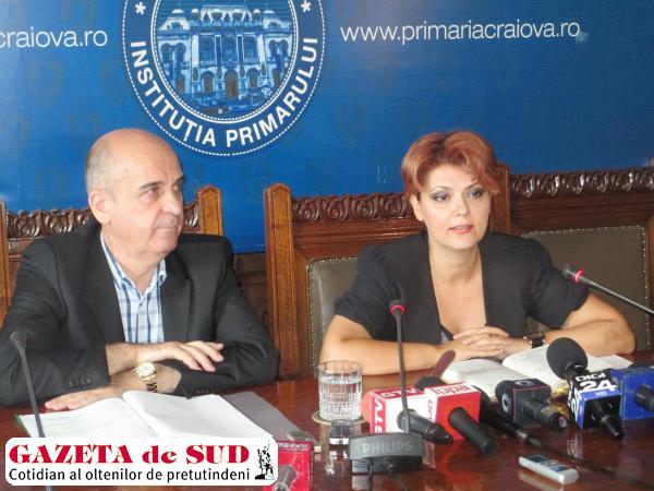 Primarul Lia Olguţa Vasilescu are ochi pentru plusuri