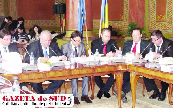 Aleşii judeţeni şi-au dat acordul pentru investiţia Companiei de Apă Oltenia