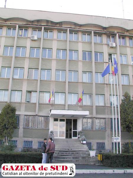 Flagrantul a avut loc în sediul IPJ Gorj