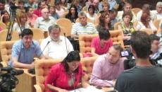 Sala de şedinţe a CL Craiova a fost plină ochi pentru dezbaterea regulamentului de ecarisaj