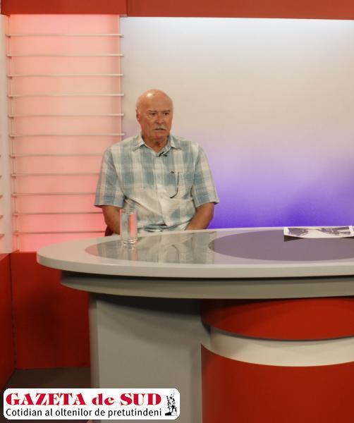 Tudor Gheorghe, în studioul GDS TV (Foto: Marius Albu)