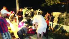 Accidentul s-a soldat cu cinci victime, dintre care una în stare gravă