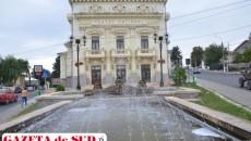 Teatrul Naţional, una dintre edificiile cu care Caracalul se mândreşte