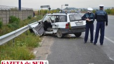 Maşina din care echipajul de la Descarcerare l-a scos pe Ion Petcu