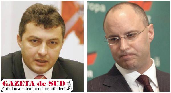 Foştii miniştri ai economiei şi comunicaţiilor, Codruţ Şereş (stânga) şi Zsolt Nagy, sunt acuzaţi de comiterea unor activităţi ilicite în legătură cu privatizarea sau restructurarea mai multor companii