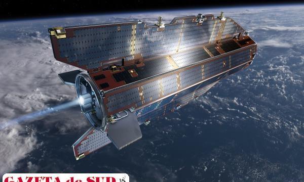 Satelitul european GOCE a rămas fără carburant (Foto: universetoday.com)