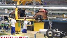 Din septembrie şi până în decembrie, Ford a oprit temporar producţia la Craiova timp de 38 de zile.