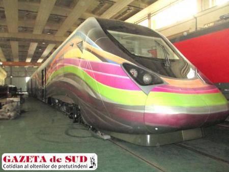 Trenul Hyperion, fabricat la Craiova de firma Softronic