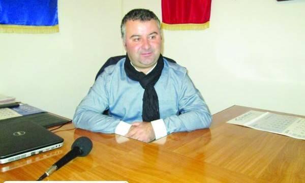 Ovidiu Gîngioveanu, primarul comunei Valea Stanciului