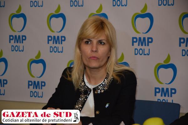 Elena Udrea spune că Oltenia trebuie scoasă de sub ocupaţia PSD
