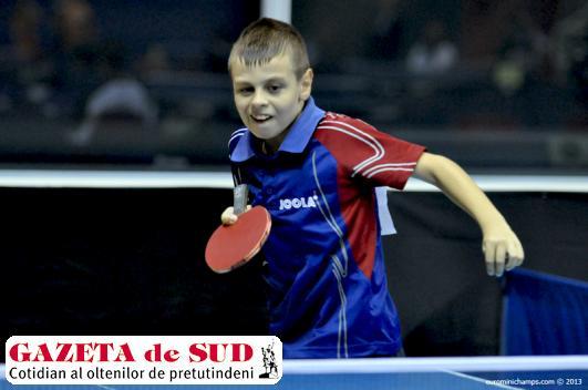 Cristian Bogdan a avut o evoluţie bună la o categorie de vârstă mai mare