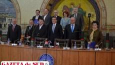 Reprezentanţii judeţelor din Oltenia au semnat protocolul de asociere pentru Craiova - Capitală Culturală Europeană 2021