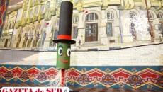 Aşa arată mascota Olteniei în cursa pentru Capitala Culturală